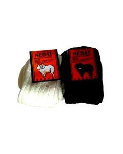 НОСКИ ШЕРСТЯНЫЕ из овечьей шерсти (цвет черный) 39-42