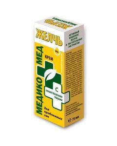Желчь-крем косметический с лекарственными травами, 75 мл