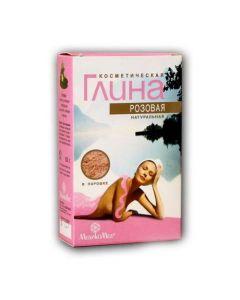 ГЛИНА розовая косметическая 100г.
