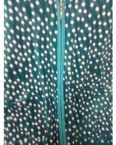Халат женский велюровый  размер ХL  (зелёный) Объём бедер 120см