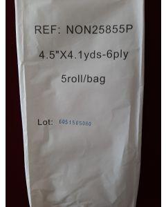 Стерильная марля  5 роллов в 6 слоев 12 см x 3.7 м