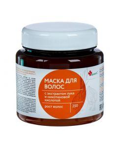 Apotek's. Маска для волос с экстрактом лука и никотиновой кислотой, 250 мл