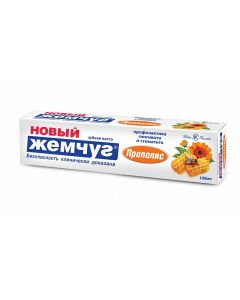 """""""Новый жемчуг"""",  Прополис,  зубная паста"""