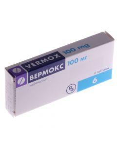 ВЕРМОКС 6 таб (антигельмитное средство)100мг