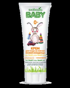 Детский Крем SVOBODA Вaby для ухода за нежной кожей младенца 0+, 75г