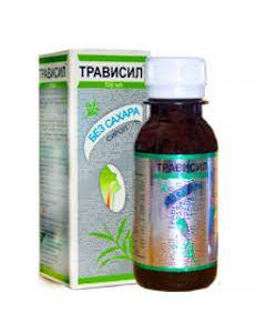 Трависил, cироп от кашля без сахара, 100 мл