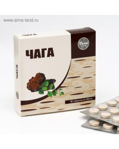 ЧАГА в таблетках 50 таб. по 500 мг