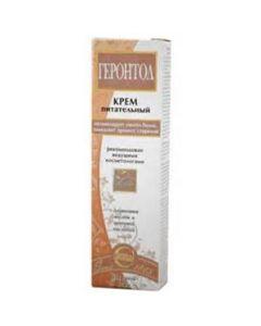 ГЕРОНТОЛ Крем питательный для лица с оливковым маслом и микроэлементами, 40г