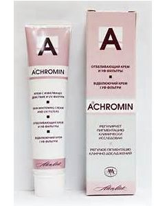 Ахромин крем  отбеливающий с UV защитой, 45мл