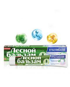 ЛЕСНОЙ БАЛЬЗАМ зубная паста Натуральное отбеливание, 75мл