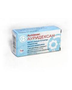 Ушные капли АУРИДЕКСАН  5мл