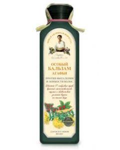 Рецепты бабушки Агафьи Особый бальзам Агафьи против выпадения и ломкости волос, 350 мл