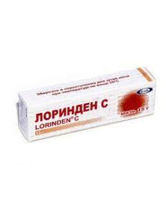 ЛОРИНДЕН С (экзема. аллергический и себорейный дерматит) крем 15г