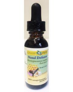 Натуральные капли для носа. Мед и лекарственные растения 30мл