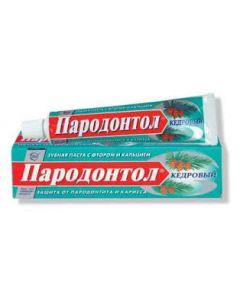 Зубная паста Пародонтол Кедровый туба 63 мл