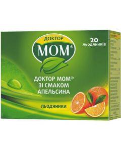 Доктор МОМ® растительные пастилки от кашля (апельсин), №20