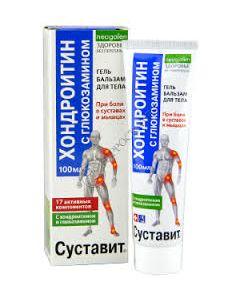 Суставит Форте крем (хондроитин и глюкозамин) 125 мл