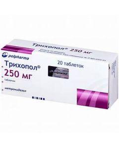 ТРИХОПОЛ 250 мг, 20 табл.