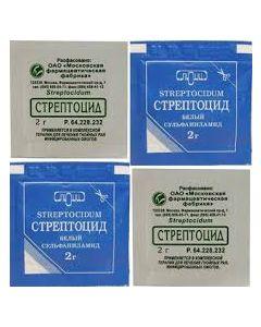 Стрептоцид порошок 1пак. 2 г