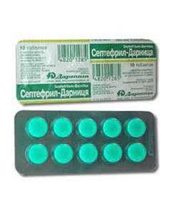 СЕПТЕФРИЛ ( таблетки для горла) 10таб
