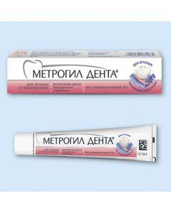 МЕТРОГИЛ ДЕНТА,  гель для десен 20г