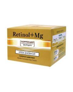 «BIELITA» РЕТИНОЛ + Магний, коррекция морщин, Дневной крем для лица, 45 мл