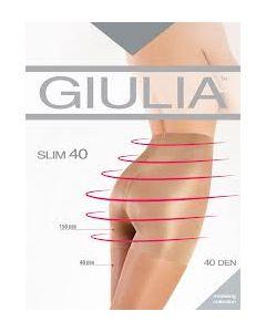 Колготки Giulia SLIM 40 корректирующие размер 5 XL Цвет Бежевый