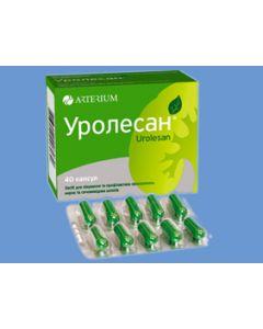 УРОЛЕСАН (при забол. почек и мочевыводящих путей) 40 капс