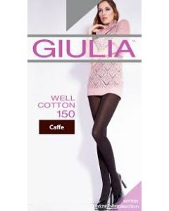 Колготки Giulia WELL COTTON 150 размер 5 XL